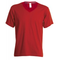TEE-SHIRT COL V MANCHES COURTES HOMME