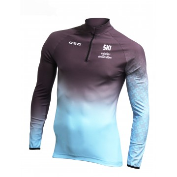MAILLOT MANCHES LONGUES RUNNING / TRAIL