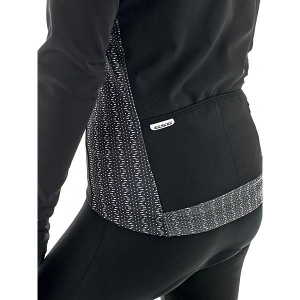 gsg veste hiver iseran noire veste thermique hiver femme la mode du sport. Black Bedroom Furniture Sets. Home Design Ideas