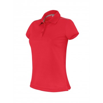 POLO MANCHES COURTES FEMME
