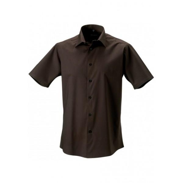 chemise homme ajust e manches courtes la mode du sport. Black Bedroom Furniture Sets. Home Design Ideas
